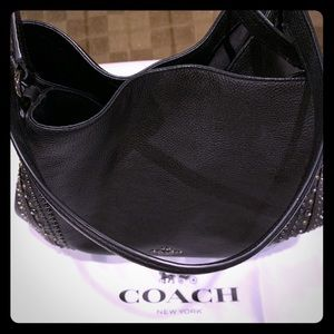 EUC Coach Edie studded bag -dust bag included!